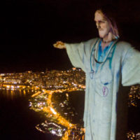 Rio de Janeiro Staged an Elaborate Projection to Transform Its Christ the Redeemer Statue