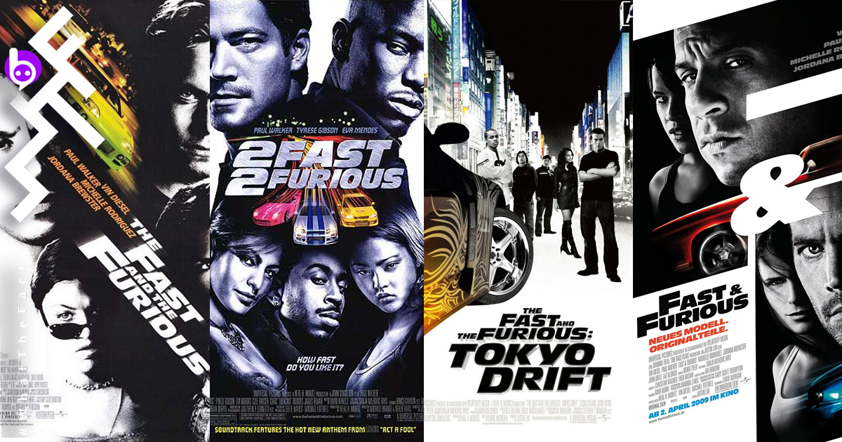 The Fast and the Furious Fast Saga Vin Diesel Paul Walker