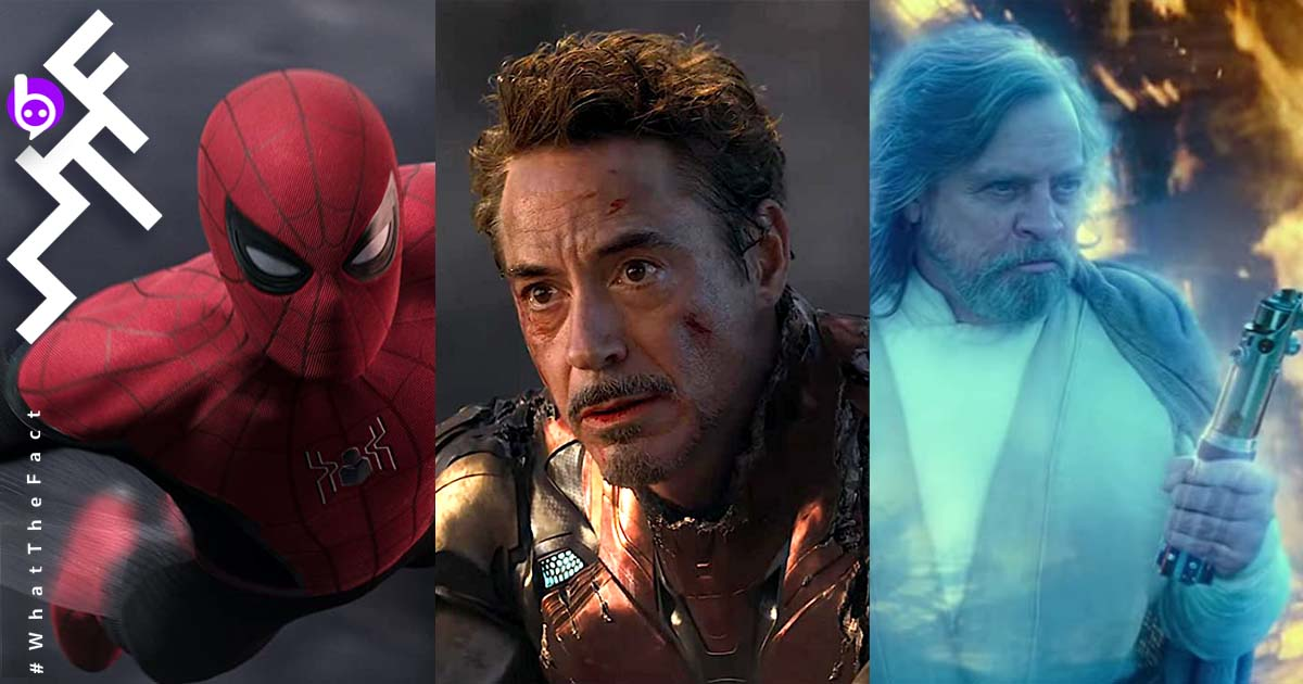 Most Valuable Films 2019 Spider Man: Far From Home Iron Man Avengers Endgame Star Wars The Rise of Skywalker