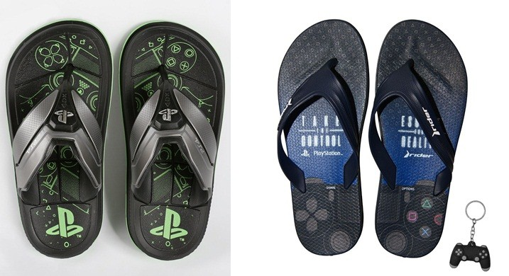 Grendene launches a series of Rider sandals inspired by PlayStation