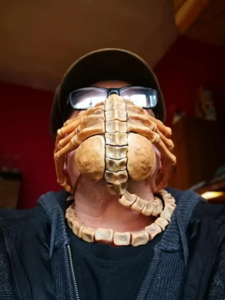 Facehugger Alien COVID-19 Mask