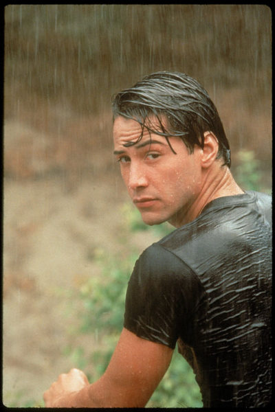 Keanu Reeves ใน Point Break (1991)