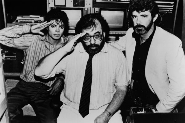 Michael Jackson, Francis Ford Coppola และ George Lucas