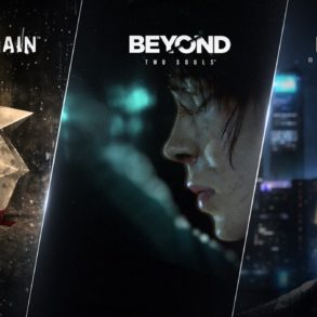Heavy Rain , Beyond: Two Souls และ Detroit: Become Human