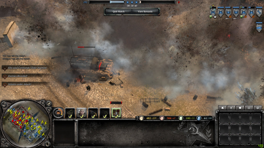 Intel Core i9-10900K company of heroes 2
