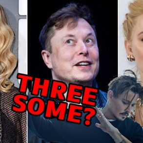 Threesome?: Elon Musk, Amber Heard and Cara Delevingne
