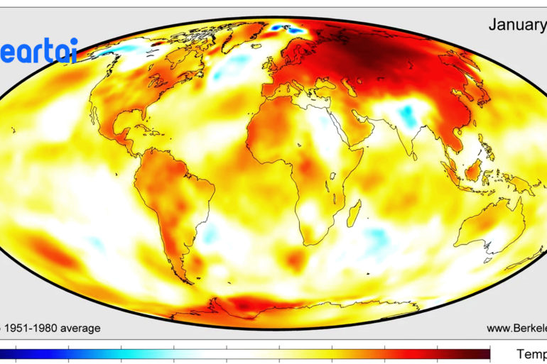 2020 is The Warmest Year
