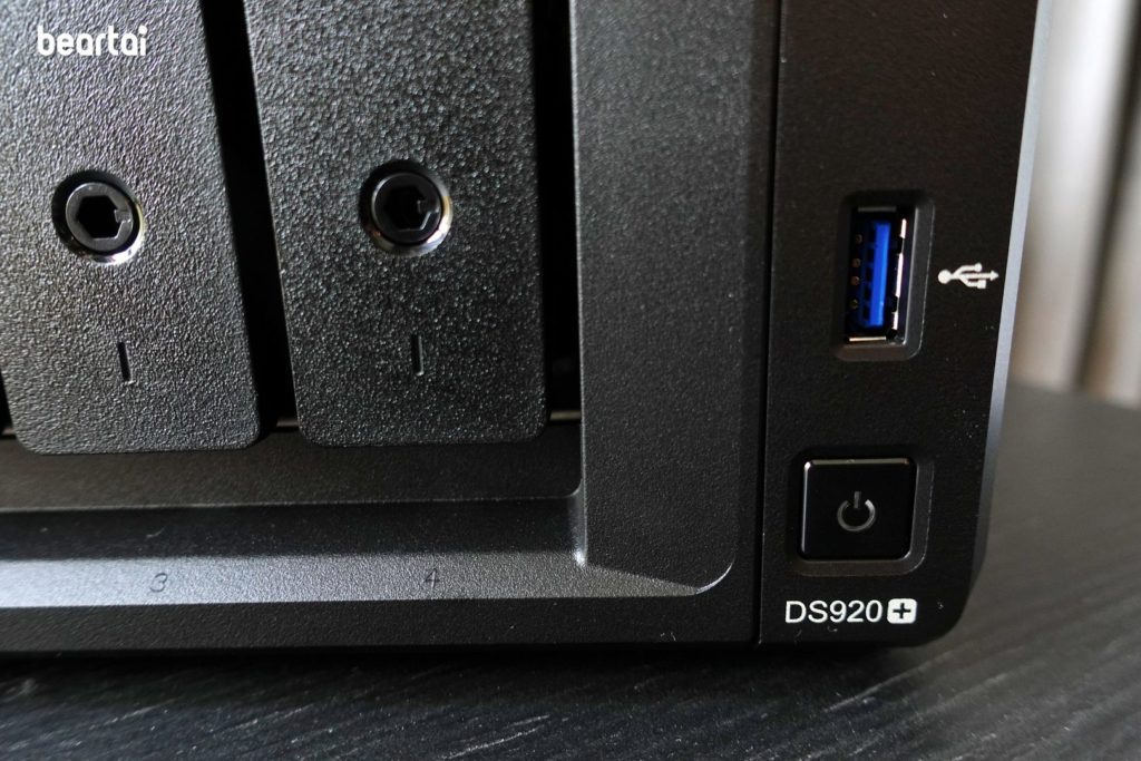 Synology DS920+ Power
