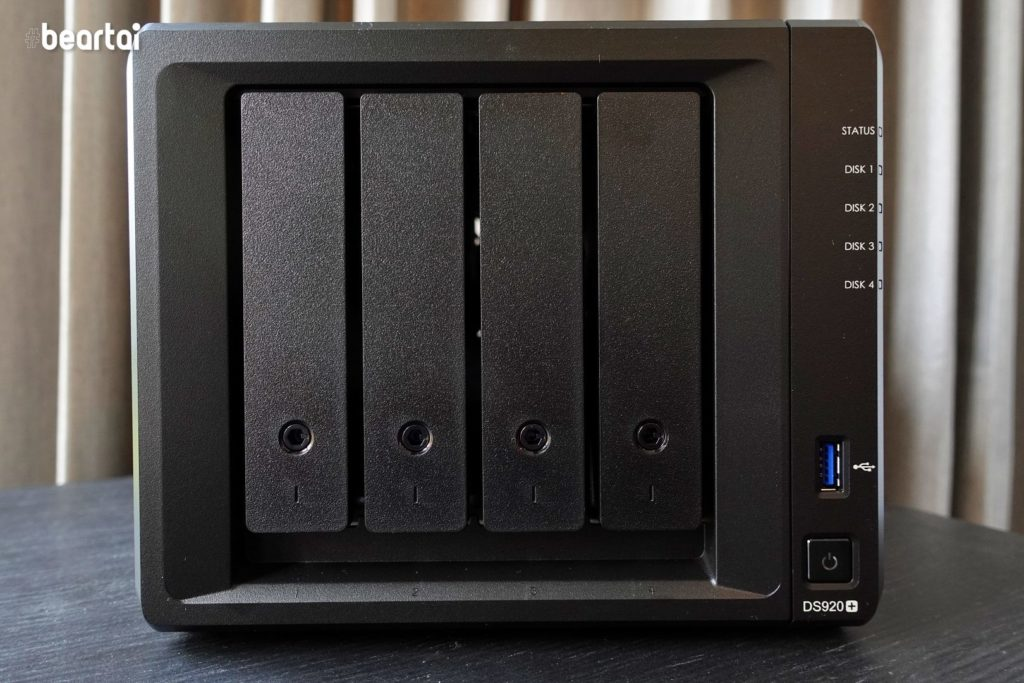 Synology DS920+ Front