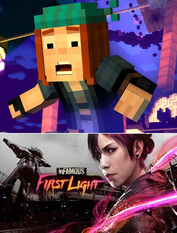 Infamous First Light Minecraft Story Mode