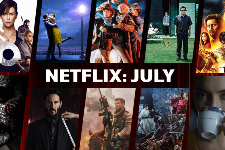 Netflix Thailand on July 2020