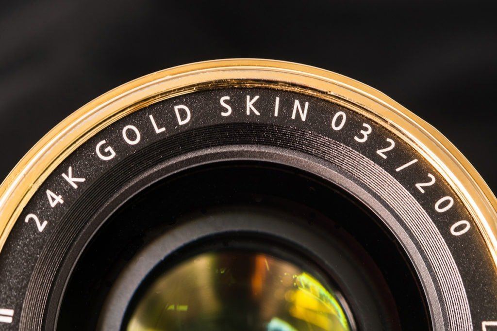 "TTartisan 35mm f/1.4 ""24K Gold Skin"" limited edition"