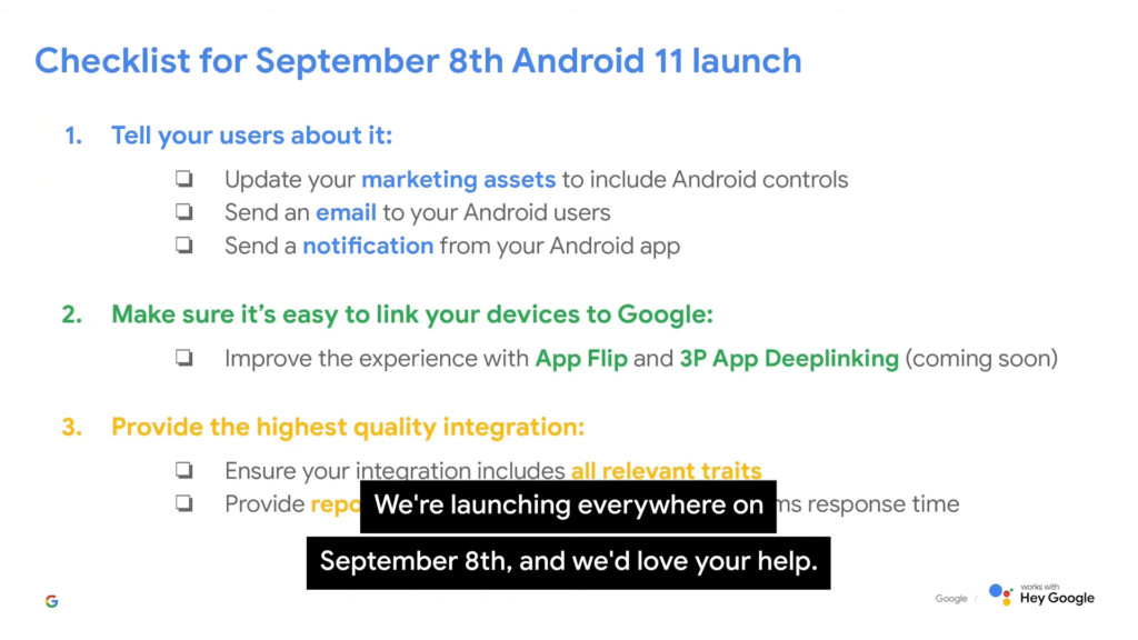 Android 11 Launch