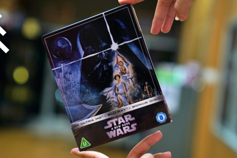WHAT THE FACT รีวิวแผ่น 4K Star Wars A New Hope Zavvi Exclusive Steelbook