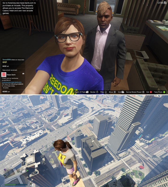 Grand Theft Auto V and Grand Theft Auto Online