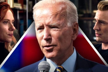 Avengers Assemble for Joe Biden