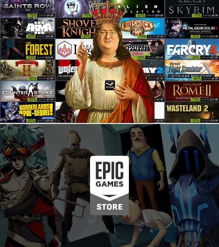 Epic Games Store Steam Sale