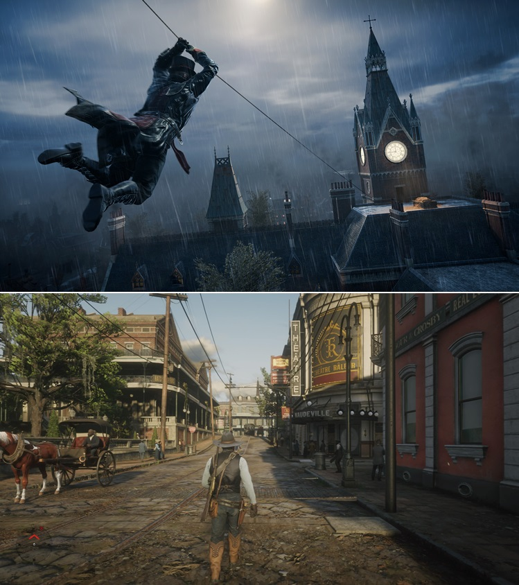 Assassin's Creed Syndicate  Red Dead Redemption 2