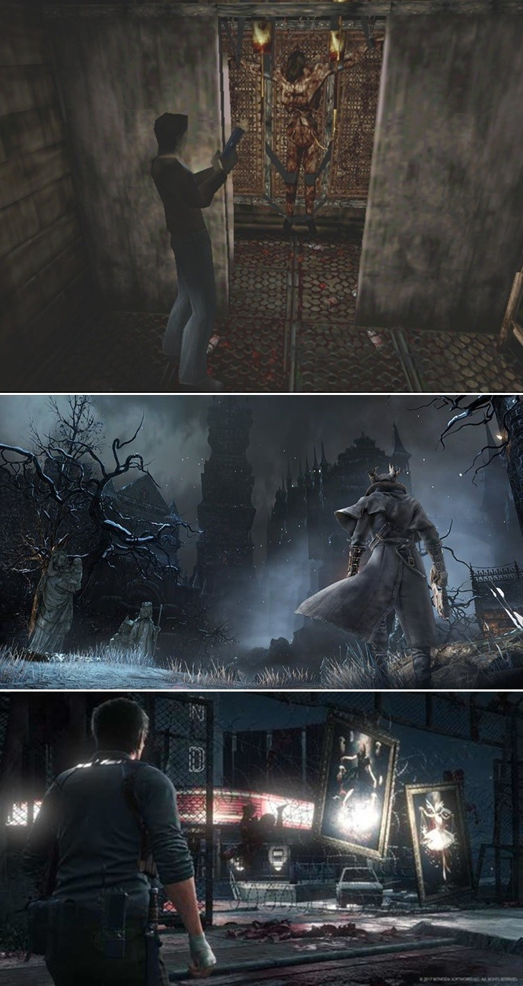 Silent Hill Bloodborne  The Evil Within