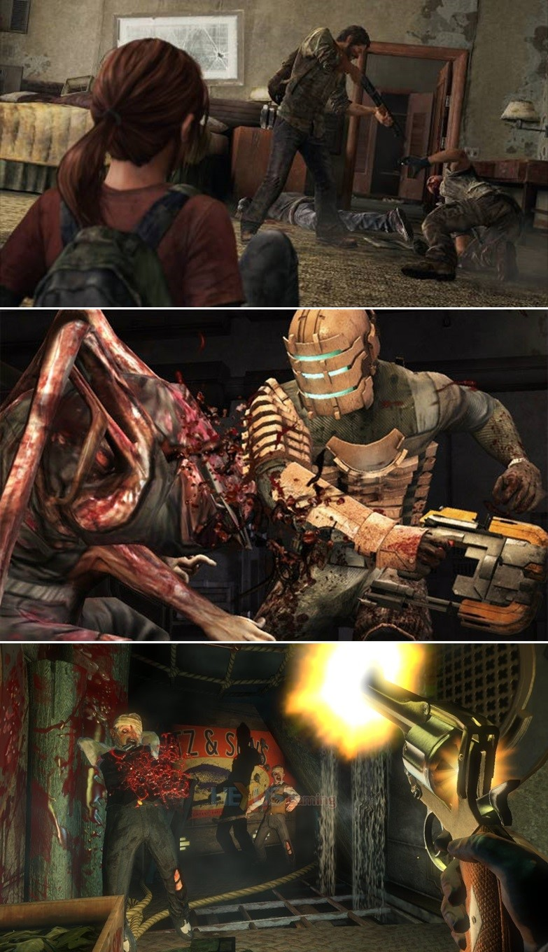 The Last of Us, Dead Space และ BioShock