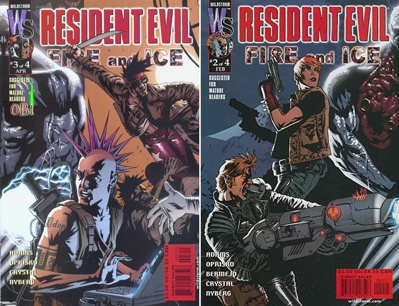 Resident Evil Fire and Ice