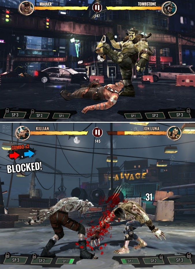 Zombie Ultimate Fighting Champions