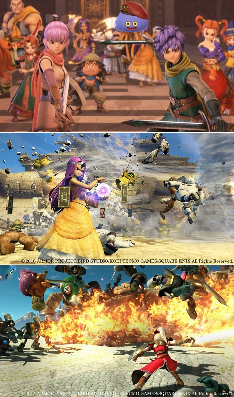 'Dragon Quest Heroes