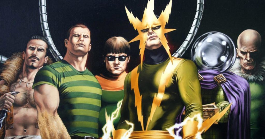 The sinister six, Spider-Man, Sony