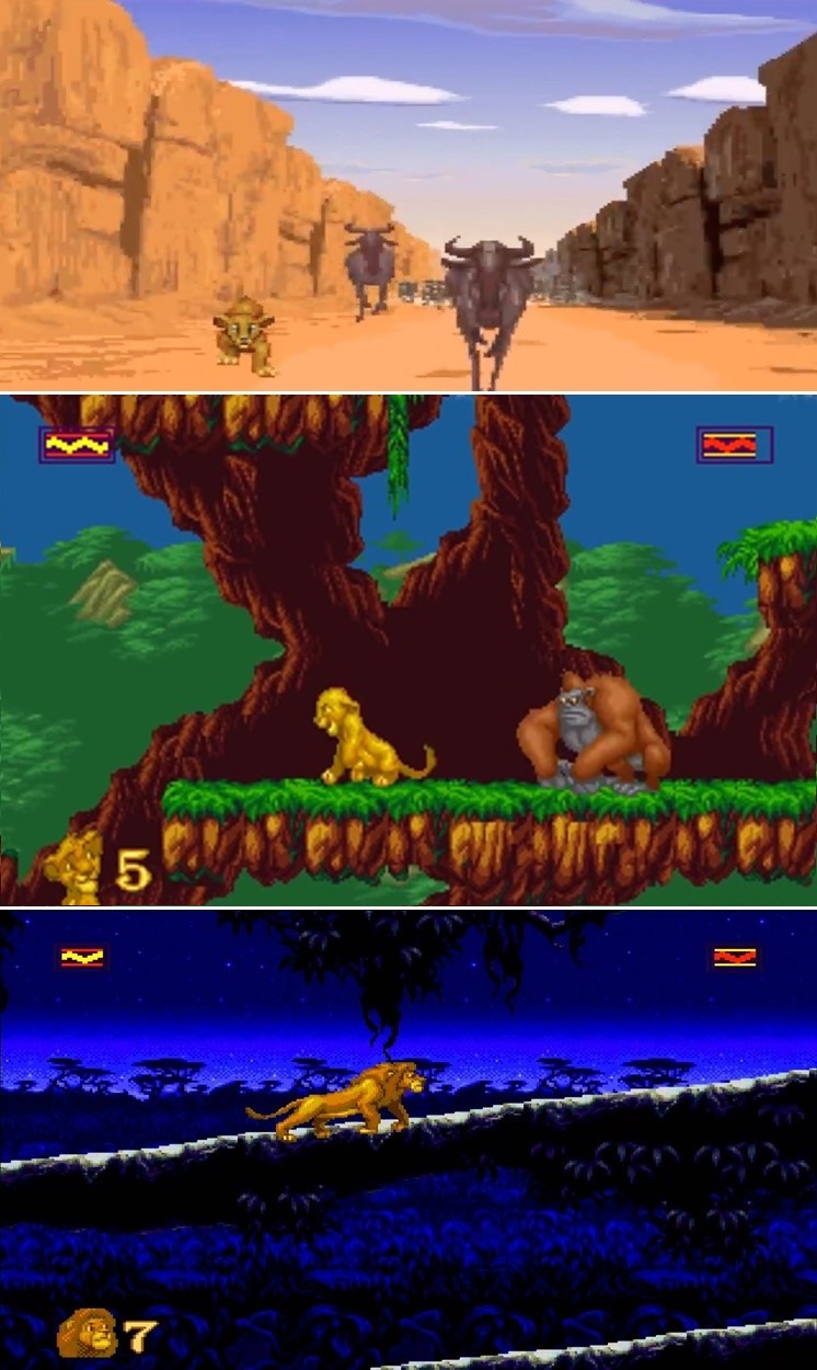 'Disney Classic Games Aladdin and The Lion King