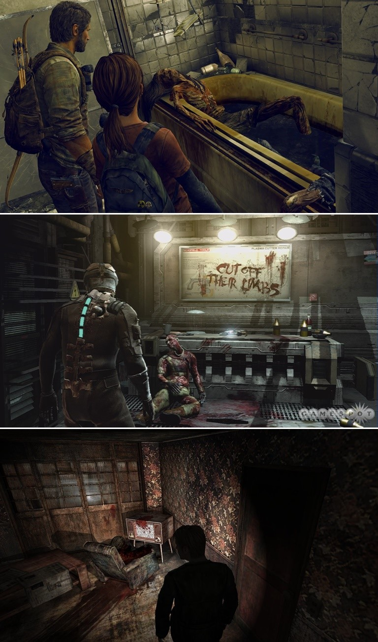 The Last of Us  dead space silent hill